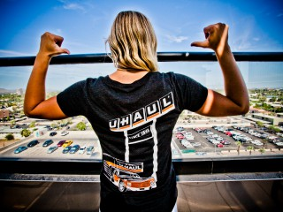 U-Haul 70th anniversary t-shirt