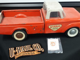 U-Haul toys and trinkets were displayed for Ridgefield Heritage Day.