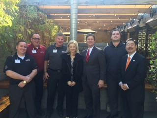 U-Haul Officials Dine with Phoenix Mayor, Talk Sustainability
