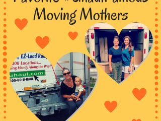 Favorite #UhaulFamous Moving Mothers