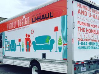 Humble Design Fueled by U-Haul truck
