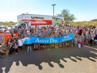 First U-Haul Active Day Spurs Company-Wide Fitness Events