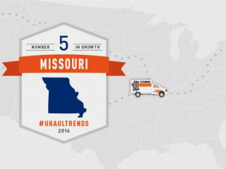 U-Haul Growth State No. 5: Missouri