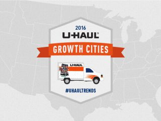 U-Haul us growth cities
