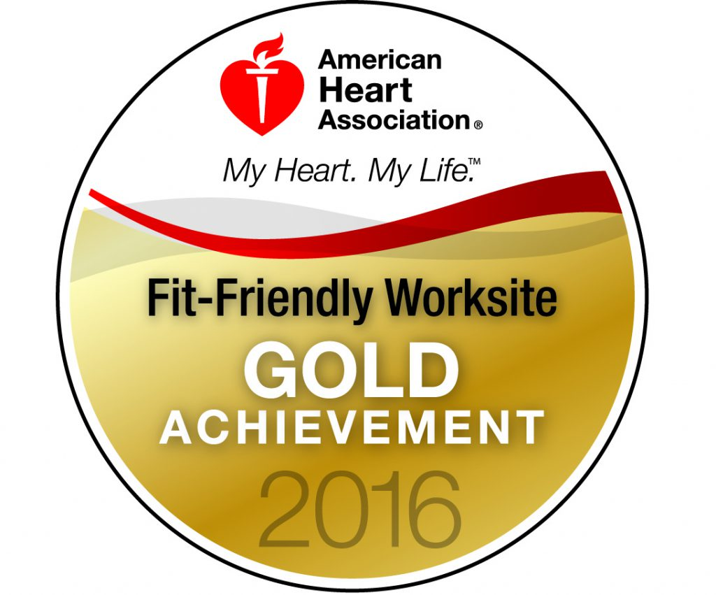 U-Haul is an American Heart Association Gold Fit-Friendly Worksite