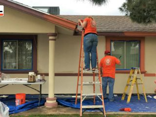 Paint Project: U-Haul Volunteers Partner with Habitat for Humanity