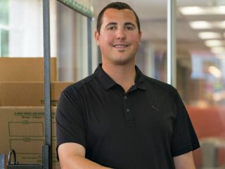 Sam Cocchi, brand manager for the Boxes and Moving Supplies program.