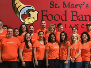 U-Haul Packs 23,000 Meals at St. Mary's Food Bank