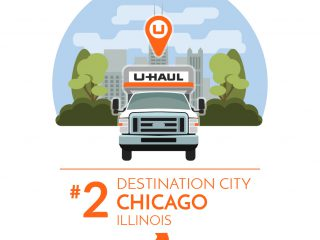 Chicago is the No. 2 U-Haul U.S. Destination City for 2016