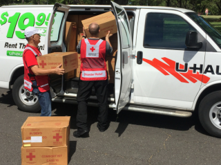 When Texas was recently hit by the strongest hurricane to hit the United States since Charley in 2004, the American Red Cross and U-Haul were ready to respond.