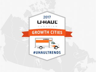 U-Haul Canadian Growth Cities