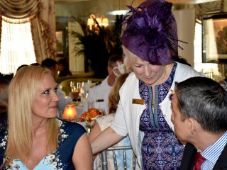 Third Annual Fleet Week Afternoon Tea Celebrates Sea Services