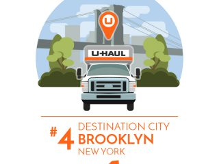 Brooklyn is the No. 4 U-Haul Destination City for 2017