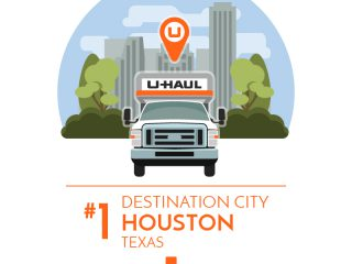 Houston is the No. 1 U-Haul Destination City for 2017