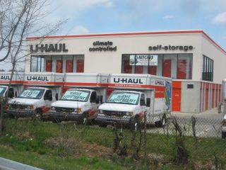 U-Haul Company of Baltimore is offering 30 days of free self-storage to residents who have been or will be impacted by heavy rains and flooding in Frederick.