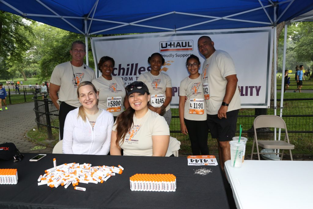 Team U-Haul at Hope and Possibility