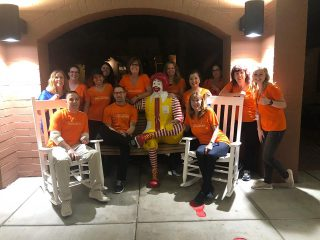 U-Haul Volunteers are Dinnertime Heroes at Ronald McDonald House