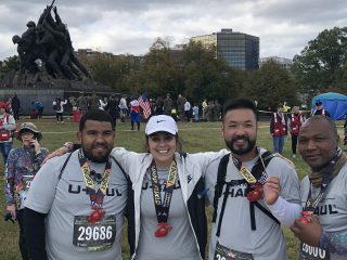 U-Haul Supports and Runs in Marine Corps Marathon