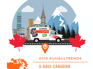 U-Haul Canadian Growth Cities for 2018