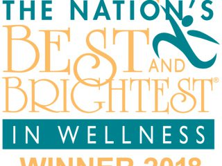 national best and brightest in wellness logo