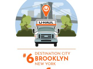 2018 U-Haul Destination Cities: No. 6 Brooklyn