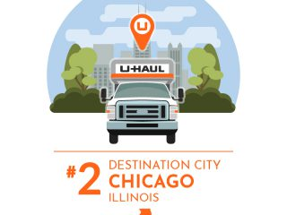 2018 U-Haul Destination Cities: No. 2 Chicago