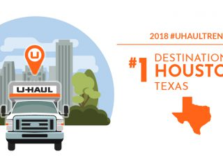 U-Haul Destination City No. 1: Houston Greets Most Movers Again
