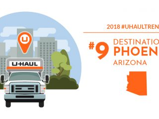 U-Haul Destination City No. 9: Phoenix Receiving More Newcomers