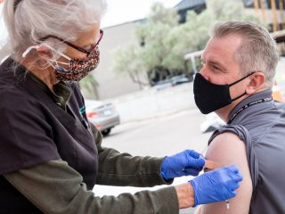 Vaccines Allocated to U-Haul lead to 720 Immunized Team, Family Members